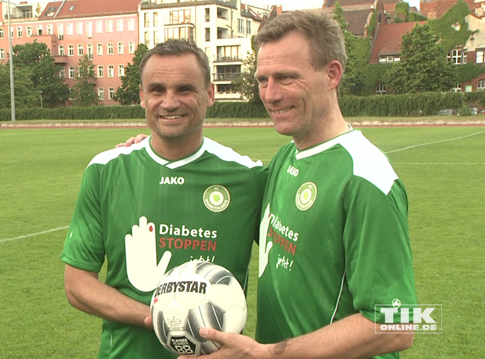 Benefiz-Fußballspiel gegen Diabetes