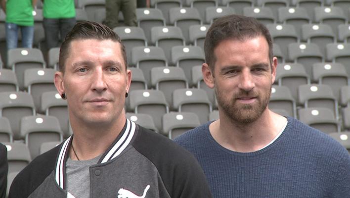 Stefan Kretschmar und Christoph Metzelder (Foto: HauptBruch GbR)
