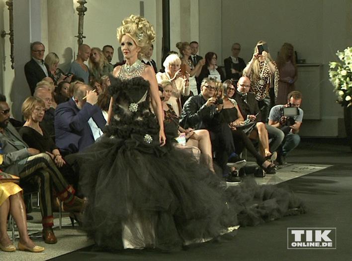 Harald Glööcklers Promi-Models bei der Sommer Fashion Week 2016