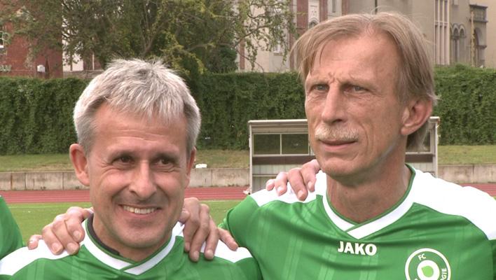 Pierre Littbarski und Christoph Daum (Foto: HauptBruch GbR)