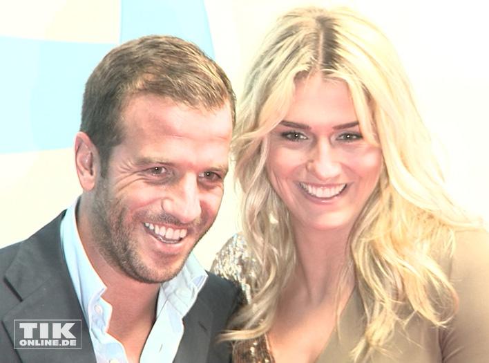 Rafael van der Vaart und Estavana Polman (Foto: HauptBruch GbR)