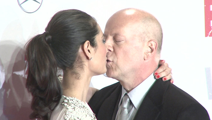 Bruce Willis und seine Ehefrau Emma Willis (Foto: HauptBruch GbR)