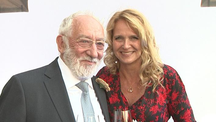 Dieter Hallervorden und Christiane Zander (Foto: HauptBruch GbR)