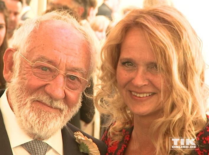Dieter Hallervorden und Christiane Zander beim Produzentenfest 2016