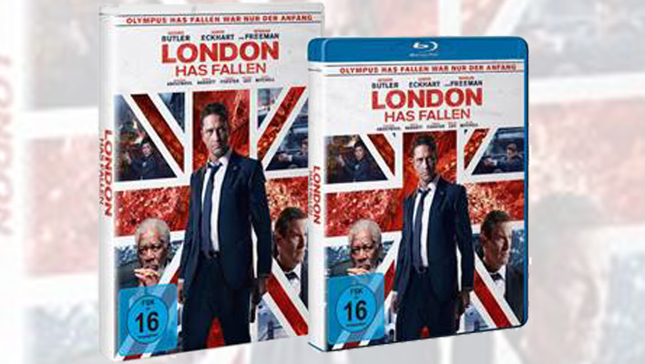 London Has Fallen DVD (Foto: Promo)
