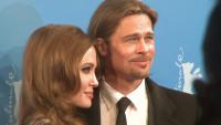 Brad Pitt und Angelina Jolie noch vor ihrer Hochzeit 2012 in Berlin