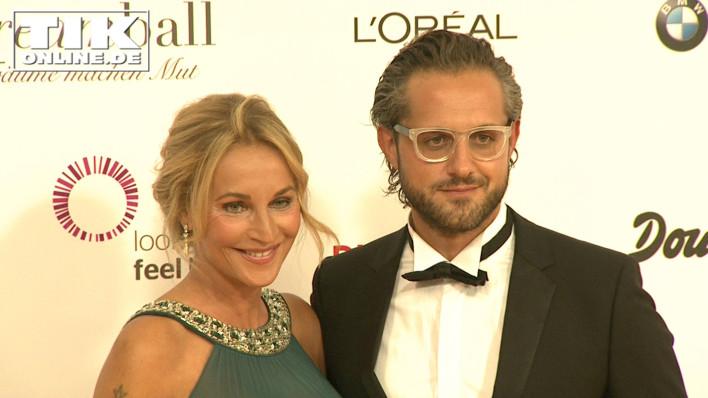 Caroline Beil mit ihrem Freund Philipp Sattler