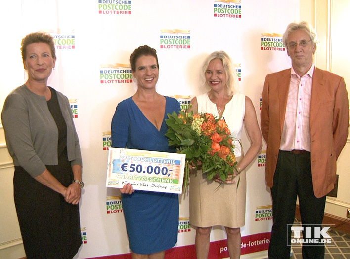 Kati Witt und die Deutsche Postcode Lotterie