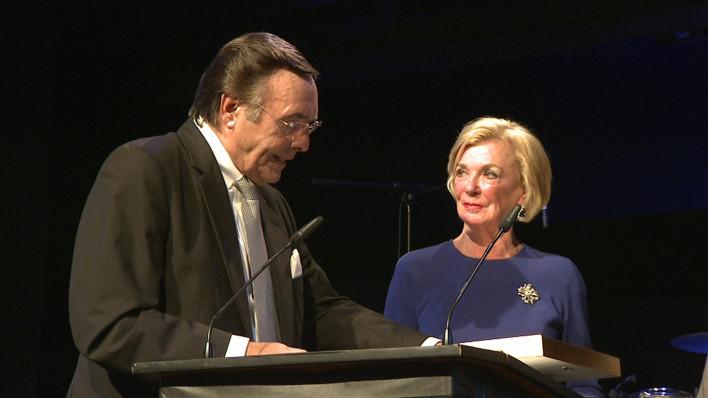 Mario Ohoven ehrt Bertelsmann-Lady Liz Mohn als Senatorin h.c.