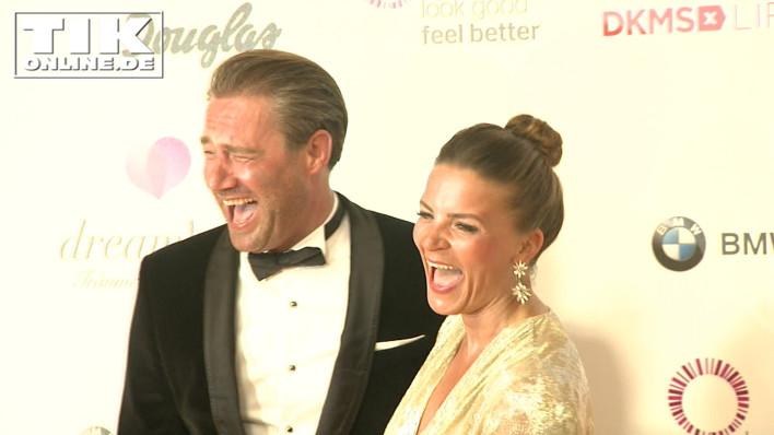 Popstar Sasha Schmitz mit Ehefrau Julia