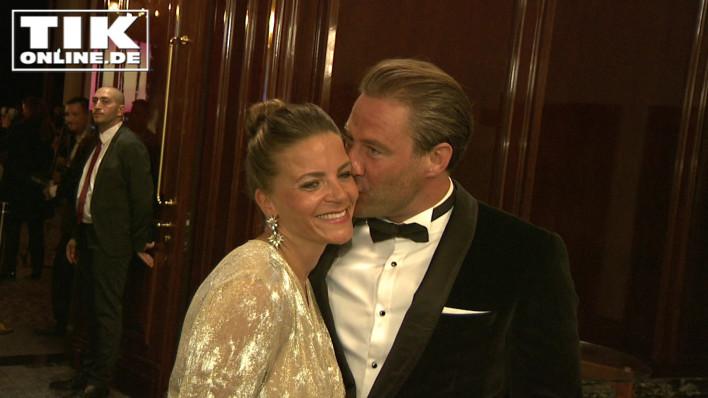 Sänger Sasha Schmitz mit Ehefrau Julia
