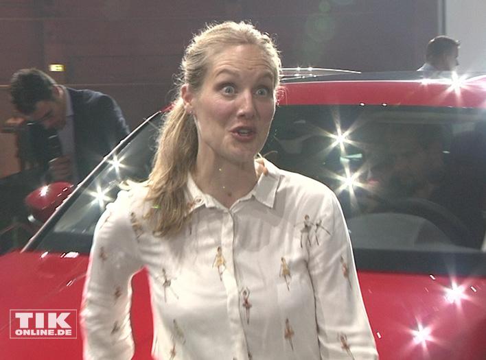 Tessa Mittelstaedt zeigte sich begeistert vom Skoda Kodiaq
