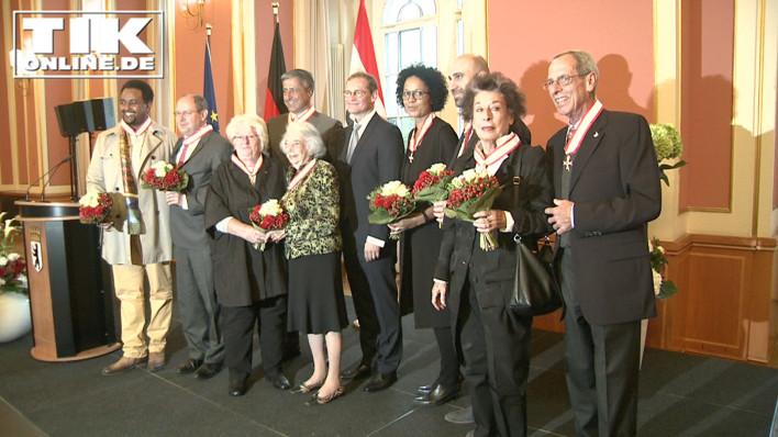 Die Verleihung der Landesorden 2016 im Roten Rathaus von Berlin