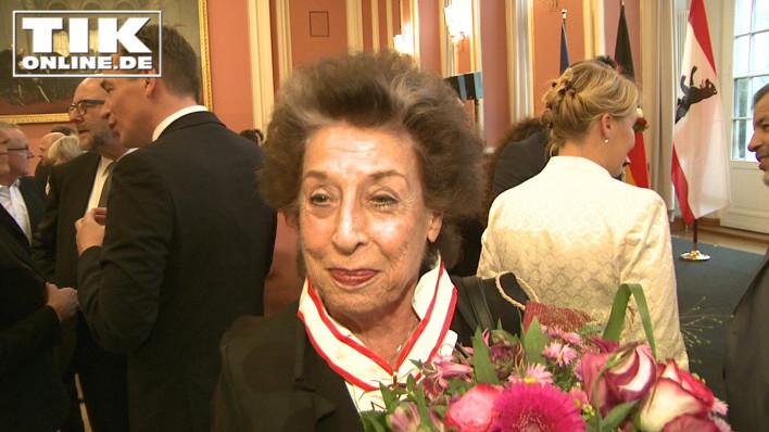 Wurde an ihrem 80. Geburtstag mit dem Verdienstorden des Landes Berlin geehrt: Lea Rosh