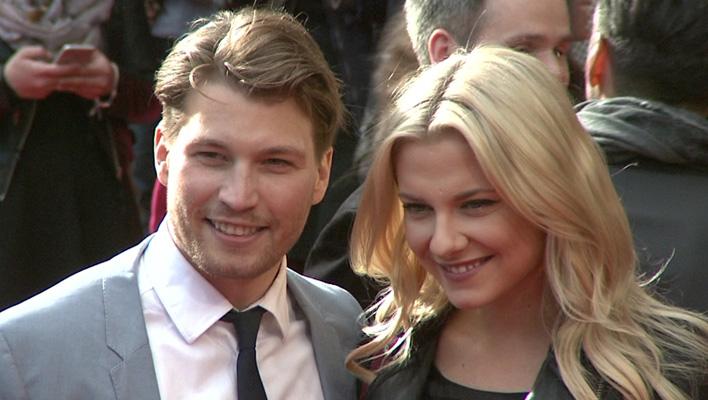 Raúl Richter und Valentina Pahde (Foto: HauptBruch GbR)