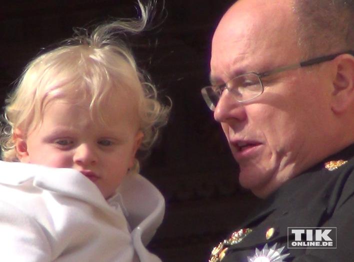 Vater und Sohn: Fürst Albert II von Monaco und sein Jacques