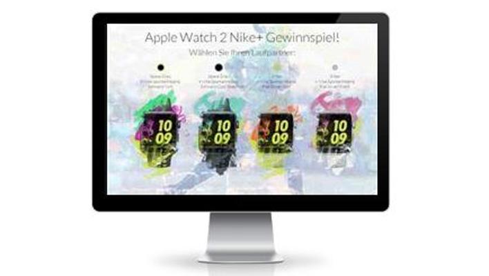 Apple Watch Nike + Gewinnspiel