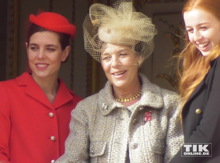 Caroline von Hannover mit ihrer Tochter Charlotte Casiraghi