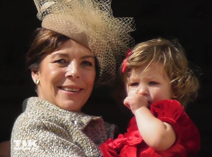 Caroline von Hannover mit ihrer Enkeltochter India
