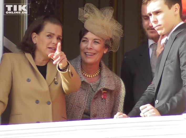 Caroline von Hannover mit ihrer Schwester Stephanie von Monaco