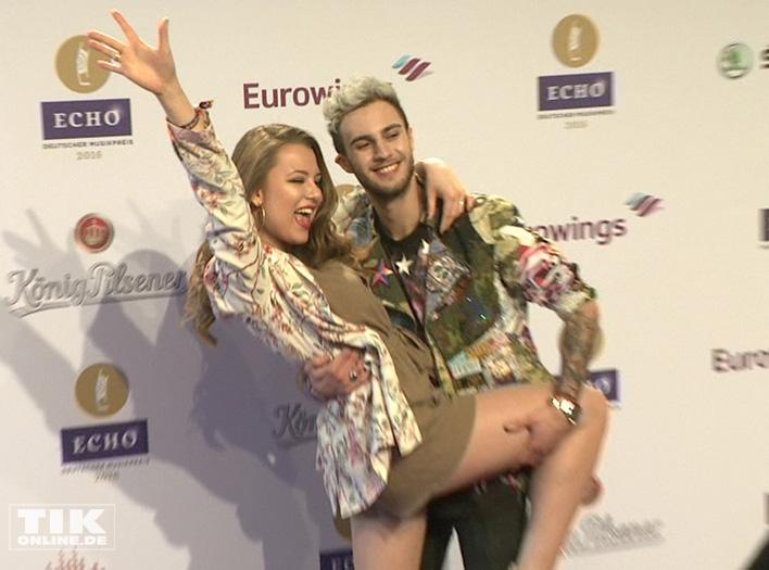 Joelina Drews und Marc Aurel Drews (Foto: HauptBruch GbR)