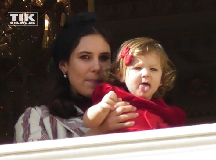 Tatiana Santo Domingo Rechulski mit ihrer Tochter India