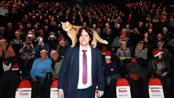Bob, der Streuner Premiere (Foto: Concorde Film)