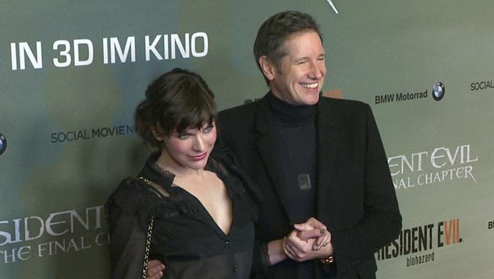 Milla Jovovich und Paul W.S. Anderson (Foto: HauptBruch GbR)