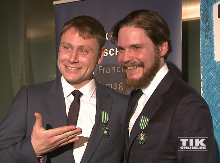 Soiree Francaise mit Daniel Brühl und Max Riemelt