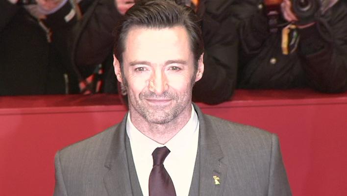 """Hugh Jackman bei der Weltpremiere von """"Logan - The Wolverine"""" in Berlin"""