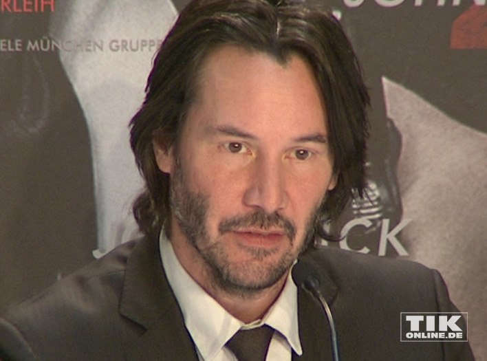"""Keanu Reeves bei der """"John Wick 2""""-PK"""