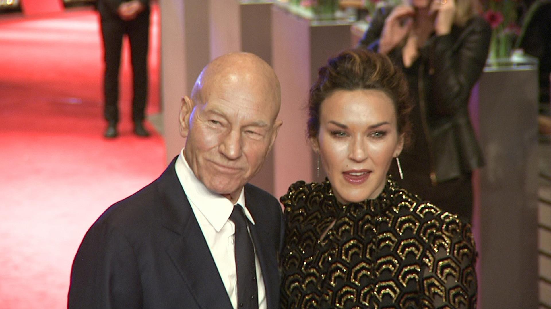 Sir Patrick Stewart und seine Ehefrau Sunny Ozell