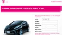 Telekom Nissan Gewinnspiel