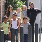 Der Jolie-Pitt-Nachwuchs ist gut erzogen