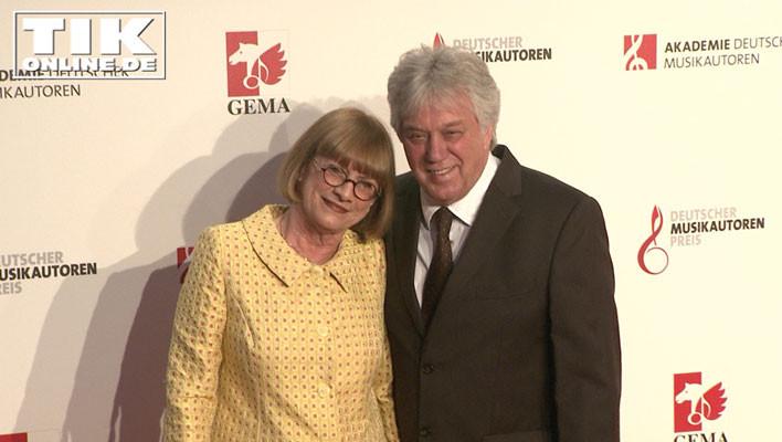 Kinderliedermacher Rolf Zuckowski und seine Frau