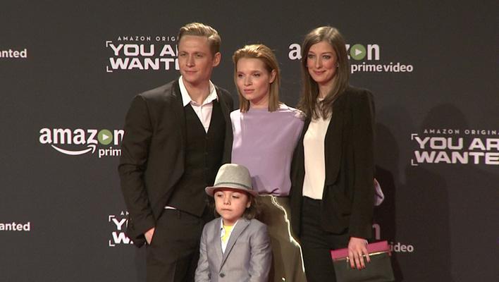 Matthias Schweighöfer mit Karoline Herfurth und Alexandra Maria Lara