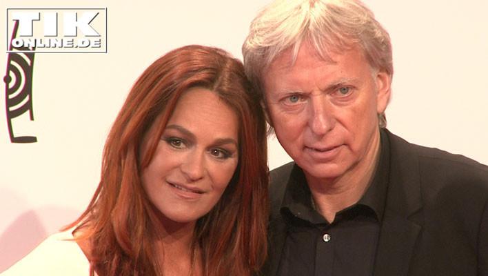 Andrea Berg mit ihrem Ehemann