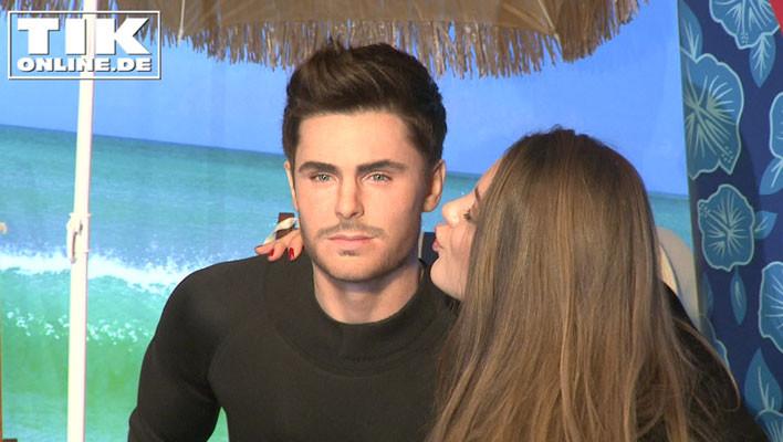 Joelina Drews küsst Zac Efrons Figur