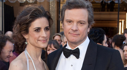 Colin Firth Frau