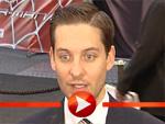 Tobey Maguire im Interview bei der Spider - Man 3 Premiere in Berlin