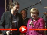 David Garrett, Angela Merkel (Foto: HauptBruch GbR)