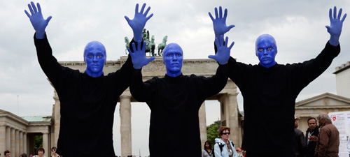 Blue Man Group (Foto: Stage Entertainment)