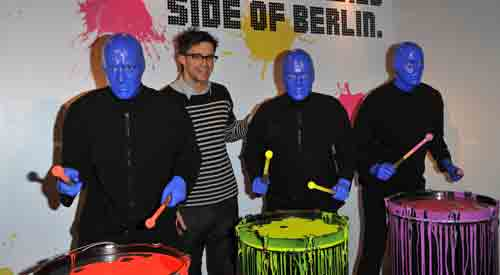 Blue Man Group will rock your world, blow your mind, and unleash your spirit. Leave your expectations at the door and let three bald and blue men take you on a spectacular journey bursting with music, laughter and surprises. 35 million people of all ages, languages and cultures know what Blue Man Group is .