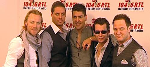 Boyzone in Berlin (Foto: HauptBruch GbR)