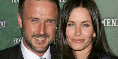 Courteney Cox und David Arquette