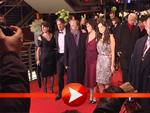 """Die Darsteller des Films """"Happy Tears"""" im Berlinale Palast"""