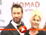 Hugh Jackman mit Frau Deborra-Lee (Foto: HauptBruch GbR)