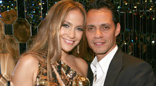 Jennifer Lopez und Marc Anthony