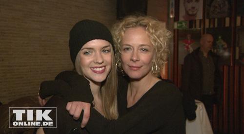 Katja Riemann mit Tochter Paula (Foto. HauptBruch GbR)