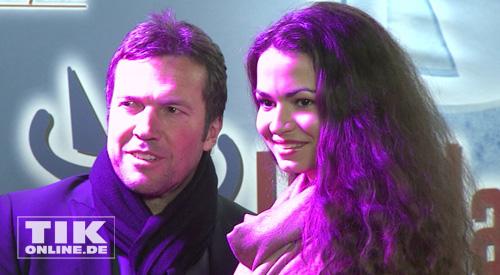 Lothar Matthäus und Anastasia (Foto: HauptBruch GbR)